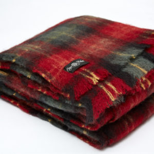 Ingubo Blankets - Cherry Plaid