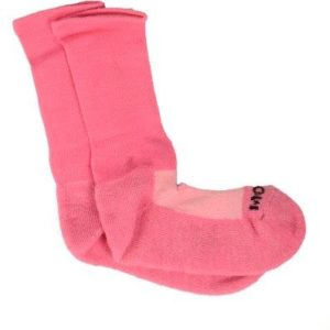 3896 - Ladies Medi Sock Cerise