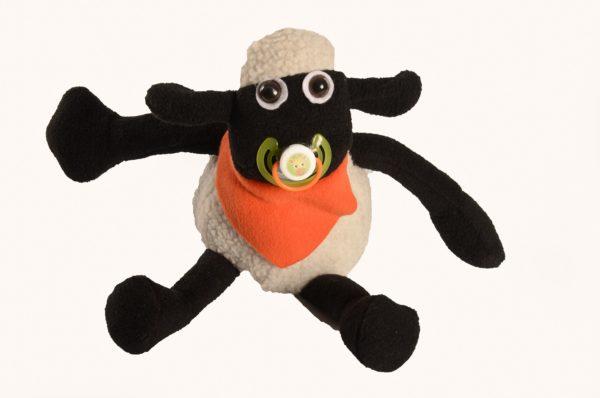 Karoo Sheep Toys - Baby Sam With Dummy