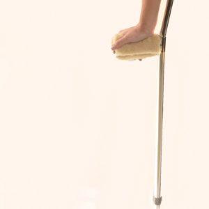 Sheepskin Crutch Grips