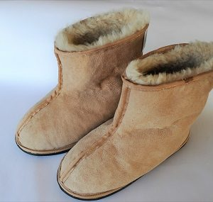 Sheepskin Boot-Slippers