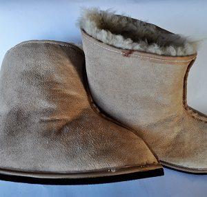 Sheepskin Boot-Slippers