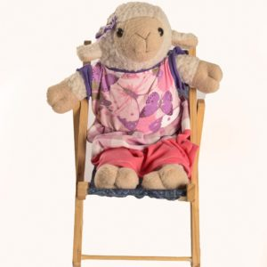 Karoo Sheep Toys - Dressed Sheep On Chair