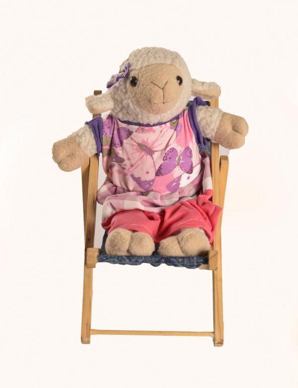 Karoo Sheep Toys - Dressed Sheep On Chair