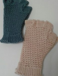 Gloves Crochet - Half Finger