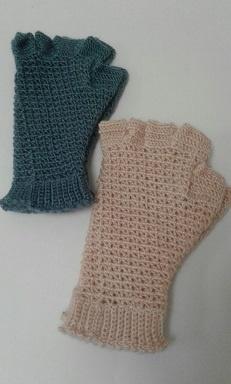 Gloves Crochet - Half Finger
