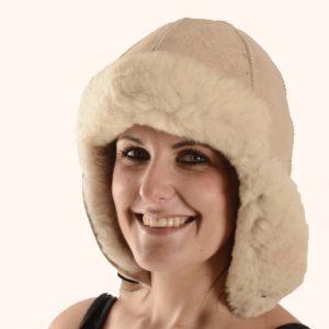 Sheepskin Parka Hat