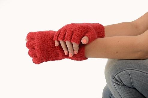 Gloves Knitted - Half Finger