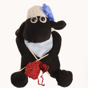 Karoo Sheep Toys - Samantha With Knitting