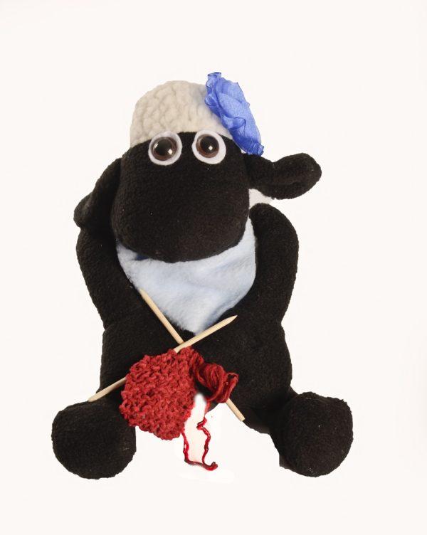 Karoo Sheep Toys - Samantha With Knitting